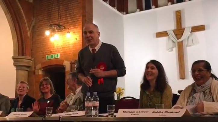 Blackheath Westcombe hustings