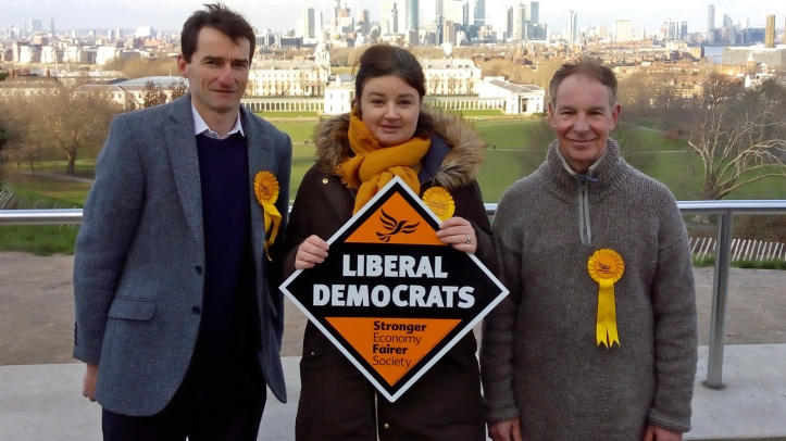 Liberal Democrat candidates in Greenwich Park