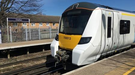 Thameslink class 700 at Charlton