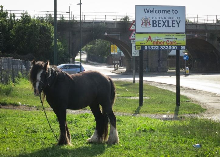 Bexley borough border at Crayford