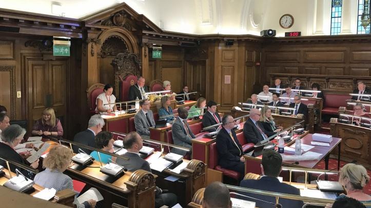 Greenwich Council chamber