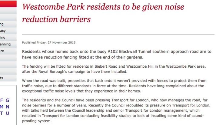 Council press release