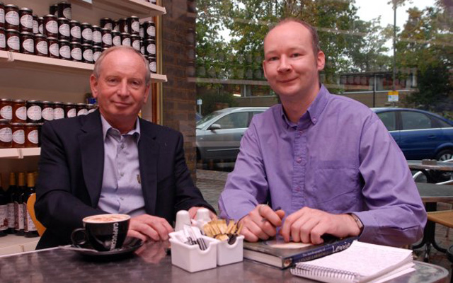Lennie Lawrence and Paul Green