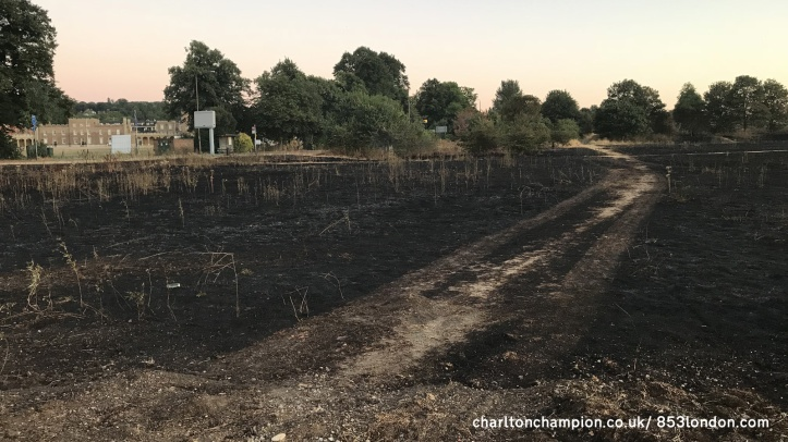 Woolwich Common fire