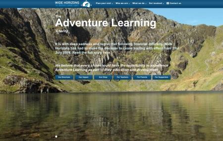 Wide Horizons website