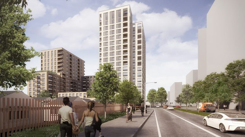 City Hall snubs council to approve 17-storey tower for Abbey Wood
