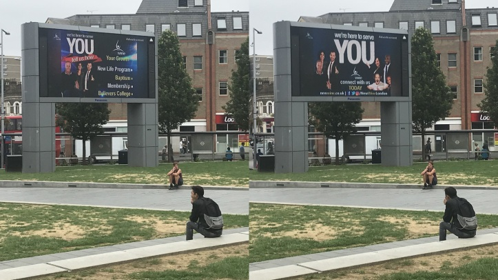 Woolwich big screen
