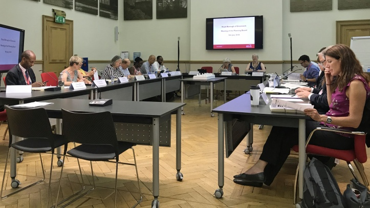 Greenwich Council planning board