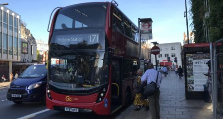 Route 171 in Catford, 17 September 2018