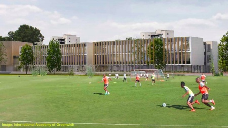 International Academy of Greenwich plan