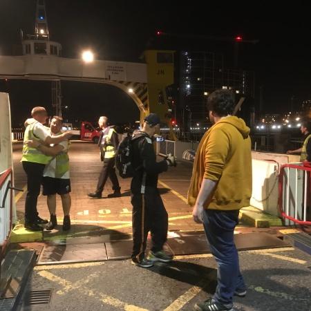 Woolwich Ferry final trip