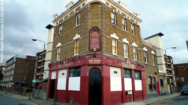 The Thames pub, Thames Street