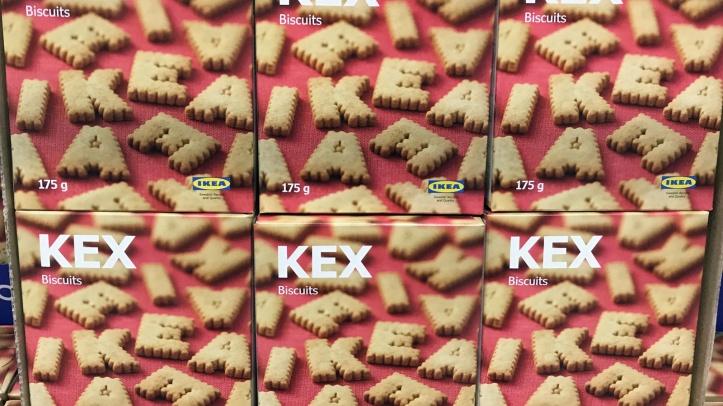Ikea biscuits