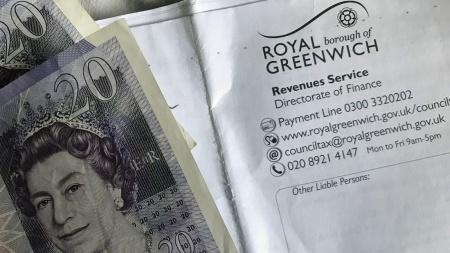 Greenwich Council tax bill