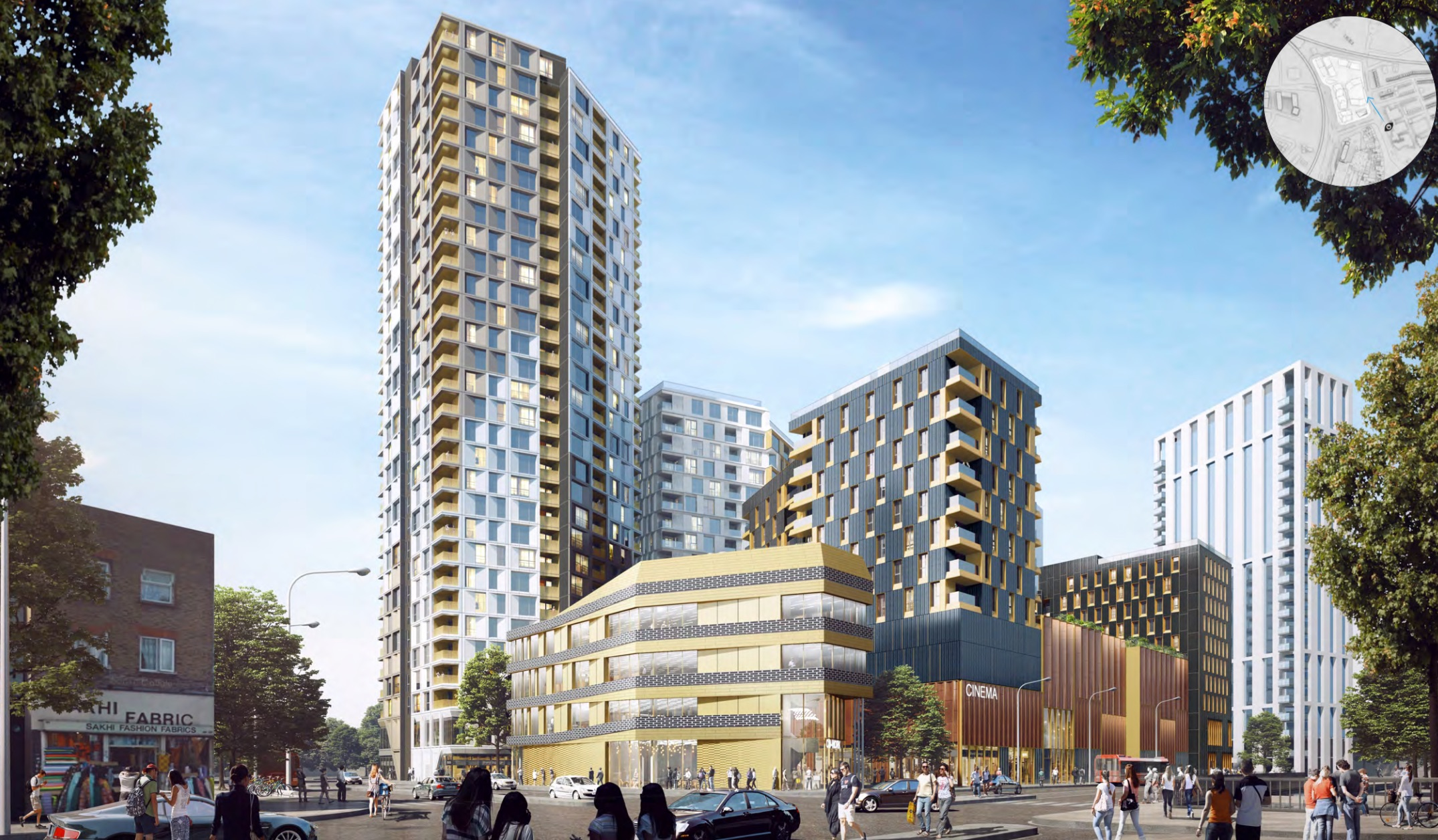 30-storey Lewisham Gateway phase two to begin in autumn – despite councillors' concerns