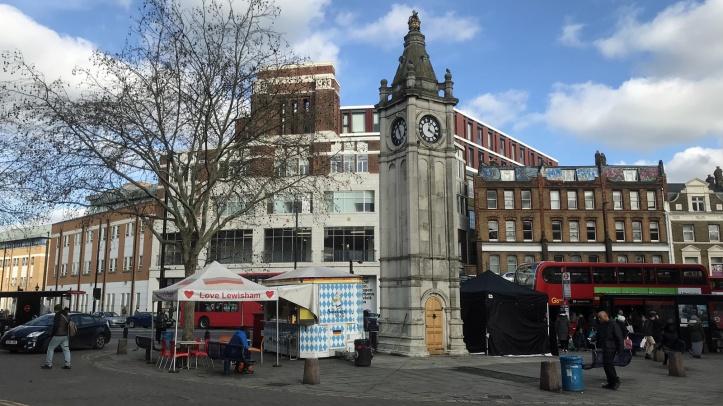 Lewisham clock tower