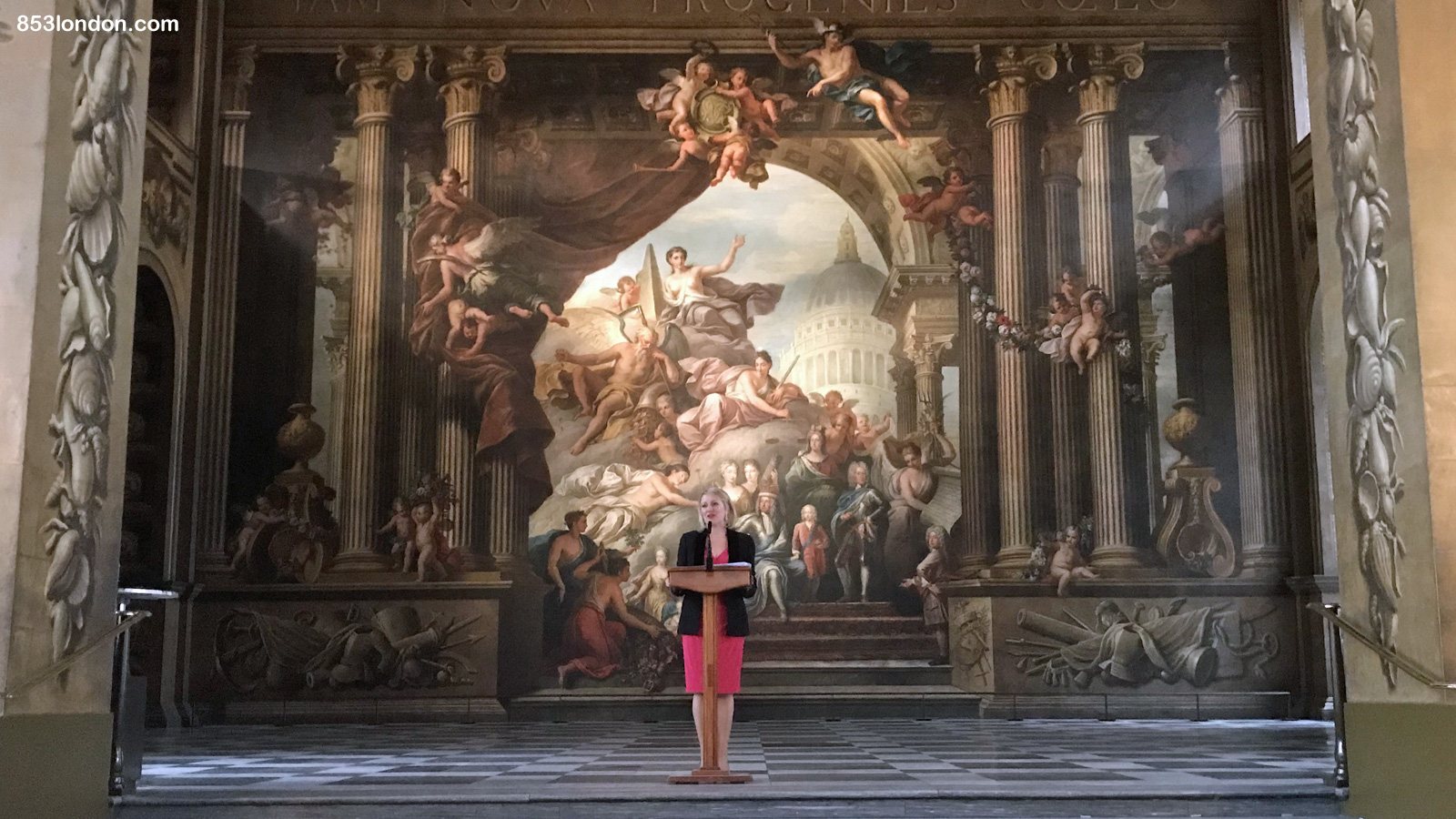 Greenwich's Painted Hall to reopen on Saturday with sea cadet parade