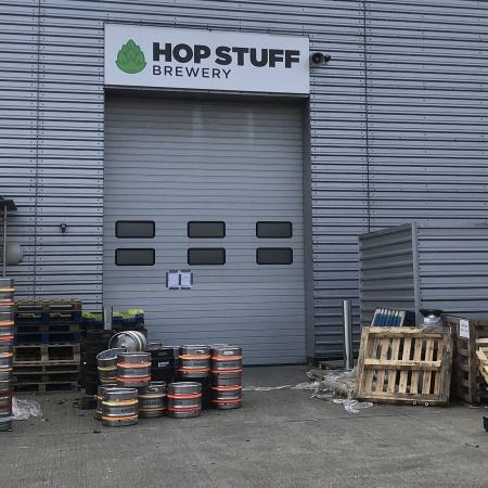 Hop Stuff brewery, Thamesmead